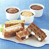 ワッフル・ケーキの店R.L (エール・エル) ワッフルケーキ&アイスセット