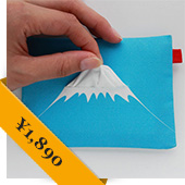 Good By Market Mount Fuji Tissue Holder