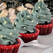 Cupcakeando クリスマスツリーカップケーキ