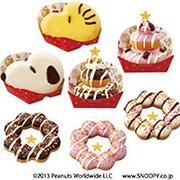 ミスタードーナツ 7種のクリスマス限定ドーナツ