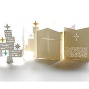D-BROS クリスマスカード 「Shine the light」