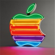 Apple Inc. Neon Sign