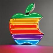 Apple Inc. Neon Sign