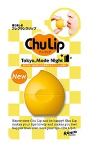 ロート製薬 , Chu Lip Tokyo, Mode Night (トウキョウモードナイト)~終わらない夜を思わせる魅惑のネオンハニーの香り~